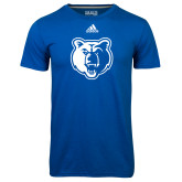 Adidas Climalite Royal Ultimate Performance Tee-Bear Head
