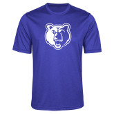 Performance Royal Heather Contender Tee-Bear Head