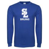 Royal Long Sleeve T Shirt-SL Bruins