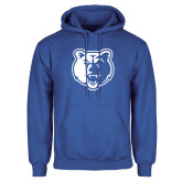Royal Fleece Hoodie-Bear Head