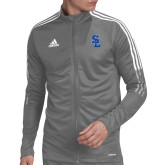 Adidas Grey Tiro 19 Training Jacket-Primary Mark