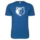Next Level SoftStyle Royal T Shirt-Bear Head