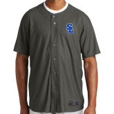 New Era Charcoal Diamond Era Jersey-Primary Mark