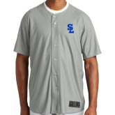 New Era Light Grey Diamond Era Jersey-Primary Mark
