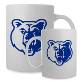 Full Color White Mug 15oz-Bear Head