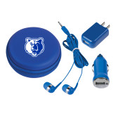 3 in 1 Royal Audio Travel Kit-Bear Head