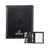 Carbon Fiber Tech Padfolio-Saint Leo University - Official Logo