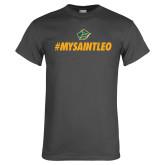 Charcoal T Shirt-MySaintLeo