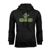 Black Fleece Hoodie-Saint Leo University - Official Logo