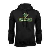 Black Fleece Hoodie-Saint Leo University - Official Logo