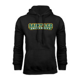 Black Fleece Hoodie-Saint Leo University