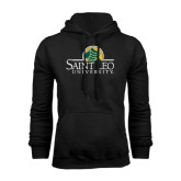 Black Fleece Hoodie-Saint Leo University - Institutional Mark