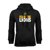 Black Fleece Hoodie-Fear The Lions