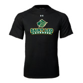 Under Armour Black Tech Tee-Lacrosse