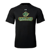 Under Armour Black Tech Tee-Saint Leo University - Official Logo