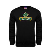 Black Fleece Crew-Saint Leo University - Official Logo