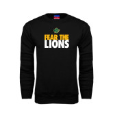 Black Fleece Crew-Fear The Lions