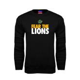 Black Fleece Crew-Fear The Lions
