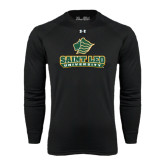 Under Armour Black Long Sleeve Tech Tee-Saint Leo University - Official Logo