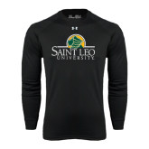 Under Armour Black Long Sleeve Tech Tee-Saint Leo University - Institutional Mark