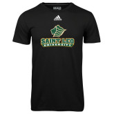Adidas Climalite Black Ultimate Performance Tee-Saint Leo University - Official Logo