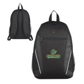 Atlas Black Computer Backpack-Saint Leo University - Official Logo