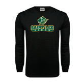 Black Long Sleeve TShirt-Saint Leo Lions