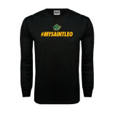 Black Long Sleeve TShirt-MySaintLeo