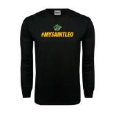 Black Long Sleeve TShirt-MySaintLeo