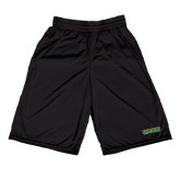 Midcourt Performance Black 9 Inch Game Short-Saint Leo University