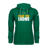 Adidas Climawarm Dark Green Team Issue Hoodie-Fear The Lions