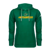 Adidas Climawarm Dark Green Team Issue Hoodie-MySaintLeo