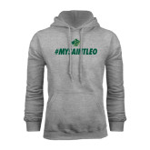 Grey Fleece Hoodie-MySaintLeo