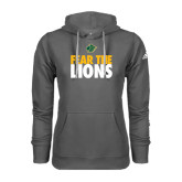 Adidas Climawarm Charcoal Team Issue Hoodie-Fear The Lions