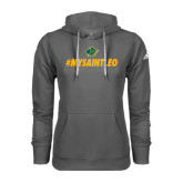 Adidas Climawarm Charcoal Team Issue Hoodie-MySaintLeo