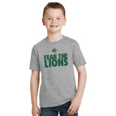 Youth Grey T-Shirt-Fear The Lions