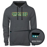 Contemporary Sofspun Charcoal Heather Hoodie-Saint Leo University