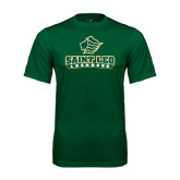 Performance Dark Green Tee-Lacrosse