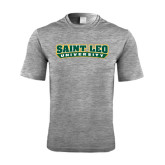 Performance Grey Heather Contender Tee-Saint Leo University