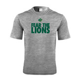 Performance Grey Heather Contender Tee-Fear The Lions