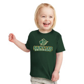 Toddler Dark Green T Shirt-Saint Leo University - Official Logo