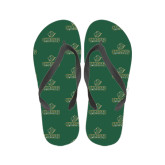 Ladies Full Color Flip Flops-Saint Leo University - Official Logo