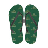 Full Color Flip Flops-Saint Leo University - Official Logo