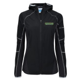 Columbia Ladies Sweet As Softshell Black Jacket-Saint Leo University