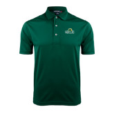 Dark Green Dry Mesh Polo-Saint Leo University - Institutional Mark