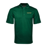 Dark Green Mini Stripe Polo-Saint Leo University