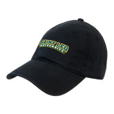 Black Twill Unstructured Low Profile Hat-Saint Leo University