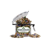 Snickers Satisfaction Small Round Canister-Saint Leo University - Official Logo
