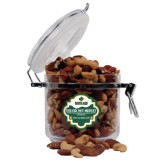 Deluxe Nut Medley Round Canister-Saint Leo University - Official Logo