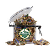 Snickers Satisfaction Round Canister-Saint Leo University - Official Logo